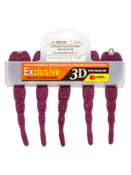 """Сменная поролоновая приманка """"3D Ex Animator double hook"""" 11 V"""