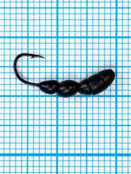 Мормышка Лесной Муравей (Formica RUFA) 0,75/12, чёрный