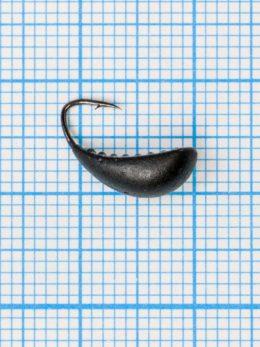 Мормышка Водяной ослик (Asellus aquaticus) 1,0/6, чёрно-серебристый
