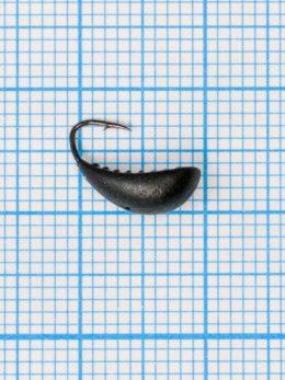 Мормышка Водяной ослик (Asellus aquaticus) 0,75/4, чёрный