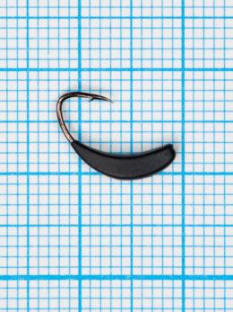 Мормышка Банан Квадратный (Banana Quattro) 0,45/6, чёрный