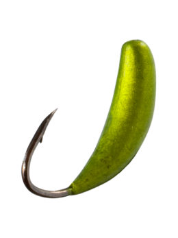 Мормышка Банан (Banana) 0,35/4, жёлтый Fluo