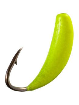 Мормышка Банан (Banana) 0,5/6, жёлтый Fluo +