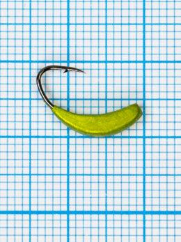 Мормышка Банан Квадратный (Banana Quattro) 0,75/8, жёлтый Fluo