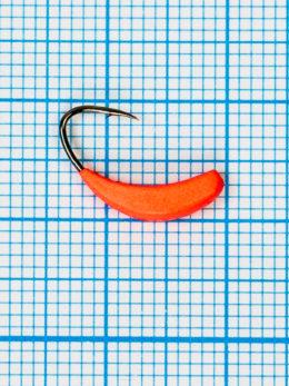 Мормышка Банан Квадратный (Banana Quattro) 0,75/8, красный Fluo +