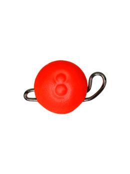 Груз ЧЕБУРАШКА спортивная разборная  8гр красный FLUO