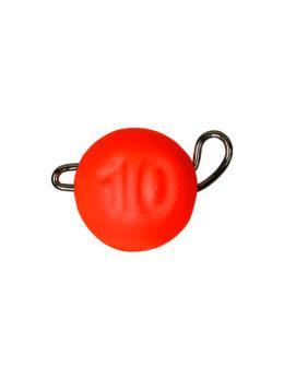 Груз ЧЕБУРАШКА спортивная разборная 10гр красный FLUO