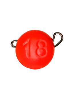 Груз ЧЕБУРАШКА спортивная разборная 18гр красный FLUO