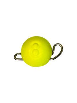 Груз ЧЕБУРАШКА спортивная разборная  8гр жёлтый FLUO