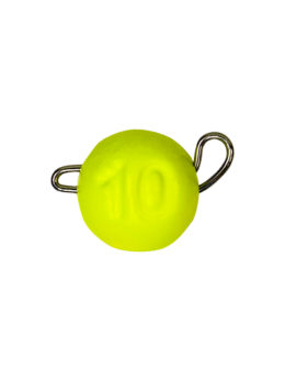 Груз ЧЕБУРАШКА спортивная разборная 10гр жёлтый FLUO