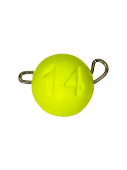 Груз ЧЕБУРАШКА спортивная разборная 14гр жёлтый FLUO