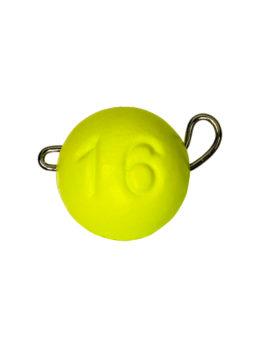 Груз ЧЕБУРАШКА спортивная разборная 16гр жёлтый FLUO