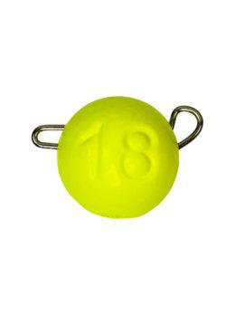 Груз ЧЕБУРАШКА спортивная разборная 18гр жёлтый FLUO