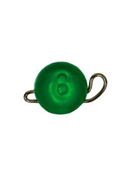 Груз ЧЕБУРАШКА спортивная разборная  8гр зелёный FLUO