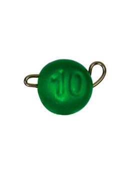 Груз ЧЕБУРАШКА спортивная разборная 10гр зелёный FLUO