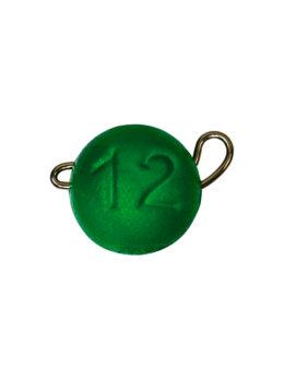 Груз ЧЕБУРАШКА спортивная разборная 12гр зелёный FLUO