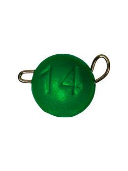 Груз ЧЕБУРАШКА спортивная разборная 14гр зелёный FLUO
