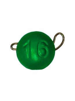 Груз ЧЕБУРАШКА спортивная разборная 16гр зелёный FLUO